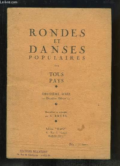 Rondes et Danses populaires de tous pays. 2ème série