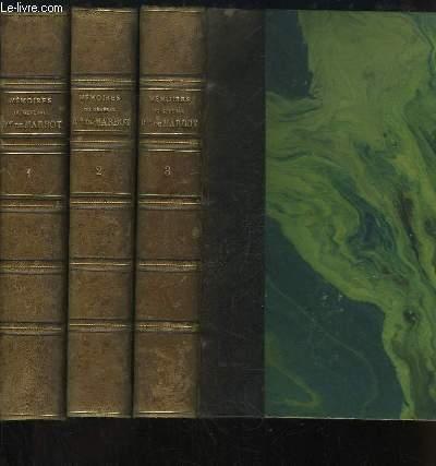 Mémoires du Général Baron de Marbot. EN 3 TOMES : Gênes, Austerlitz, Eylau - Madrid, Essling, Torrès-Védras -