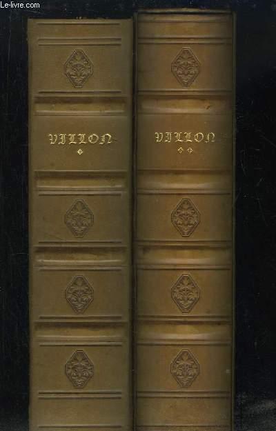 Les Esprits de Françoys Villon. Enluminés et calligraphiés par GUIGNARD