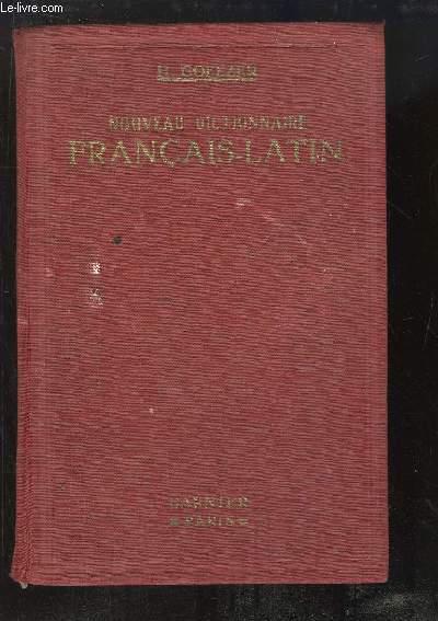 Nouveau Dictionnaire Français - Latin.