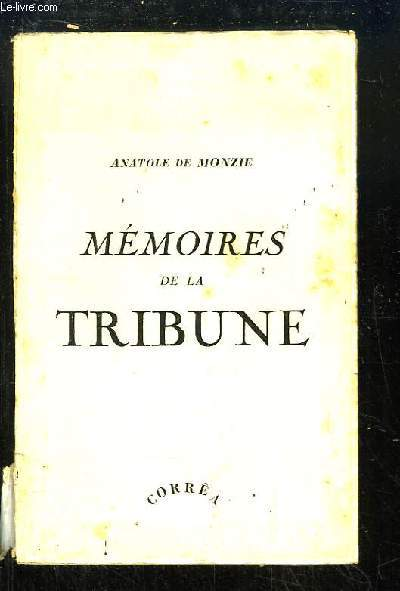 Mémoires de la Tribune.