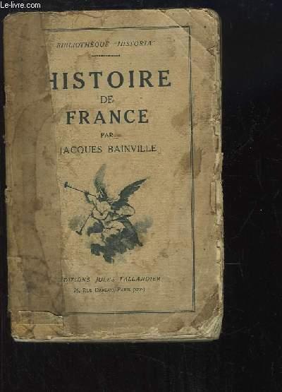 Histoire de France. TOME 2nd.