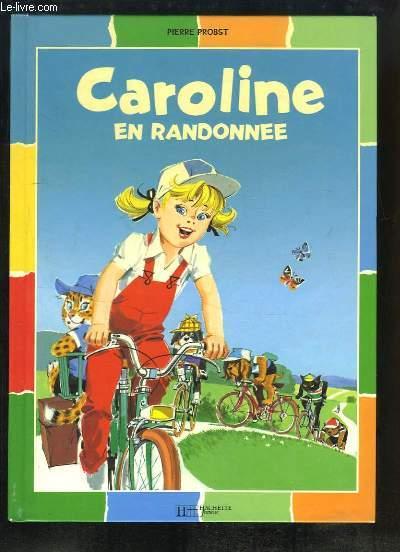 Caroline en randonnée.