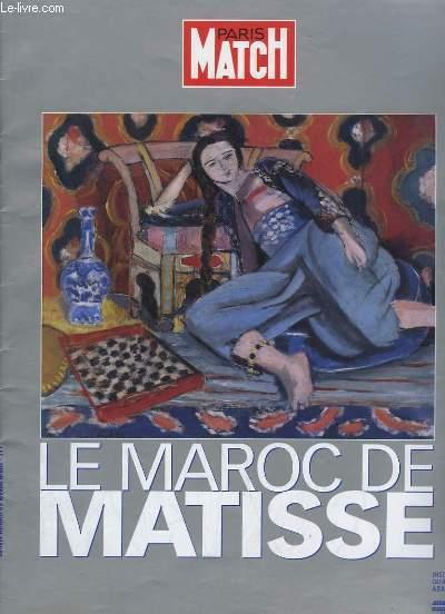 Paris-Match Hors-Série : Le Maroc de Matisse.