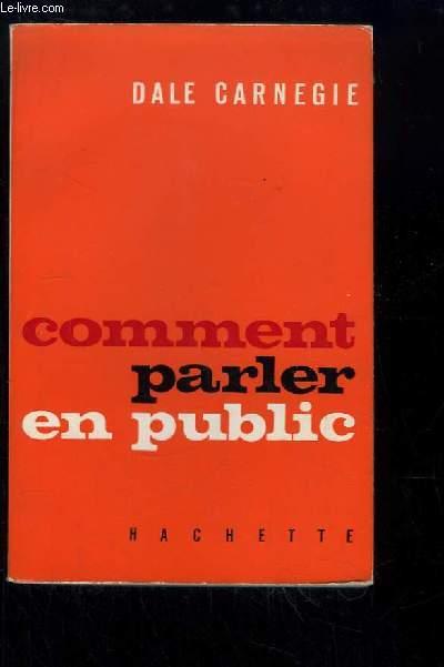 Comment parler en public.