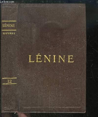 Oeuvres de V. Lénine. TOME 12 : Janvier - Juin 1907
