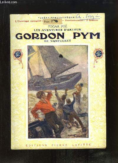 Gordon Pym de Nantucket. Les aventures d'Arthur.