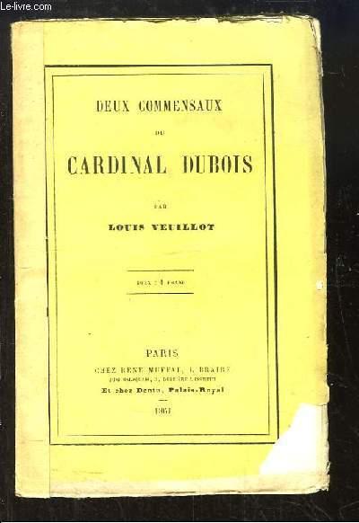 Deux Commensaux du Cardinal Dubois.