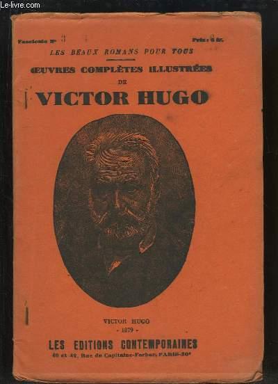 Oeuvres Complètes Illustrées de Victor Hugo : Les Misérables (complet de ses 59 fascicules)