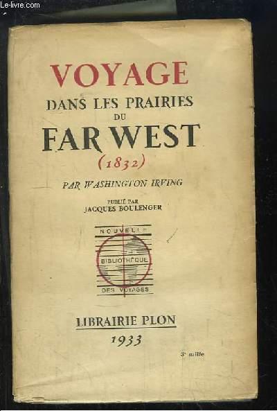 Voyage dans les prairies du Far West (1832)