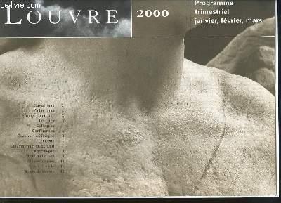 Programme trimestriel Janvier, Février et Mars 2000