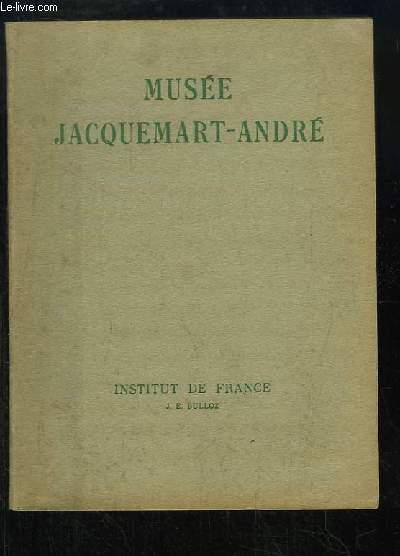 Musée Jacquemart-André. Catalogue itinéraire