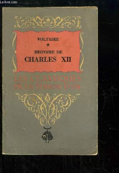 Histoire de Charles XII, Roi de Suède. TOME 1
