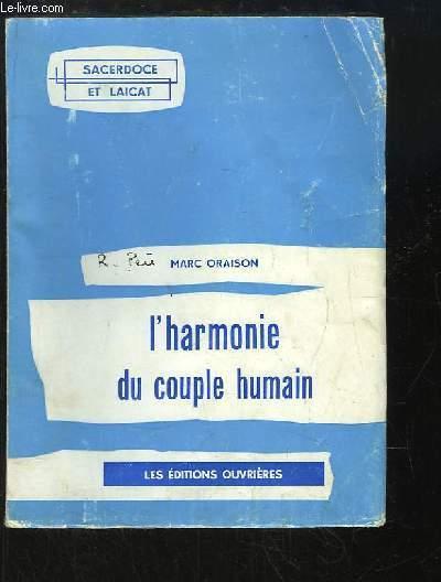 L'harmonie du couple humain.