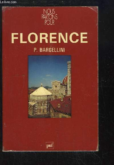 Nous partons pour Florence