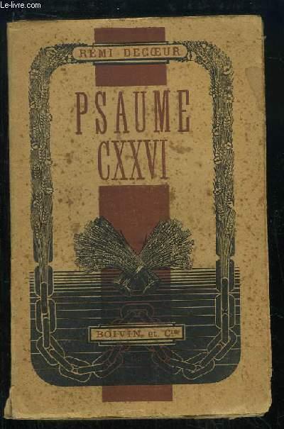 Psaume CXXVI