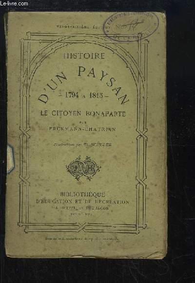 Histoire d'un Paysan, 1794 à 1815. Le citoyen Bonaparte