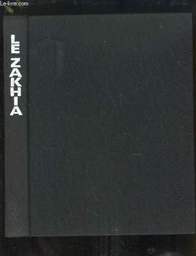 Le Zakhia. Guide des mots croisés et du Scrabble. Instrument de connaissance et de prospection