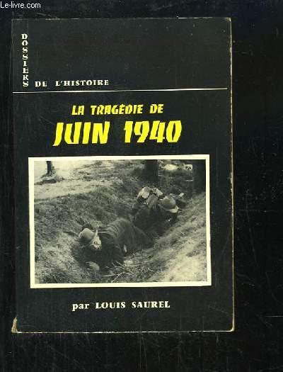 La Tragédie de Juin 1940