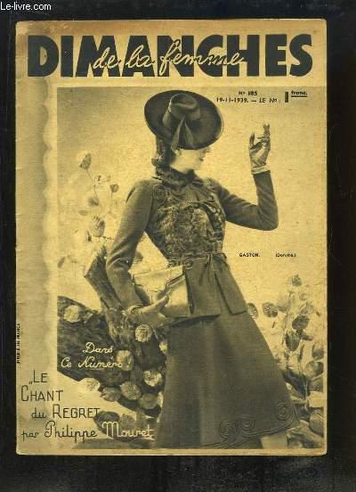 Dimanches de la Femme N°195 : Le Chant du Regert, par Philippe Mouret.