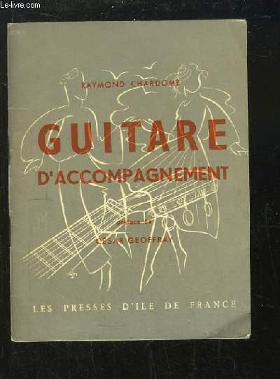 Guitare d'accompagnement. Méthode pratique.