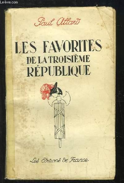 Les favorites de la IIIe République