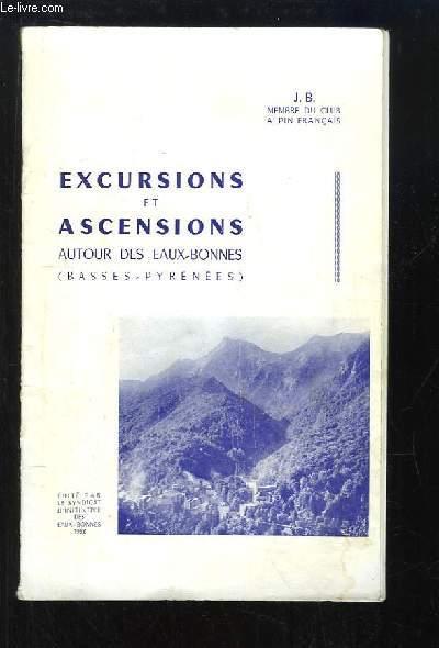 Excursions et Ascensions autour des Eaux-Bonnes (Basses-Pyrénées)