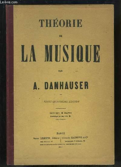 Théorie de la Musique.