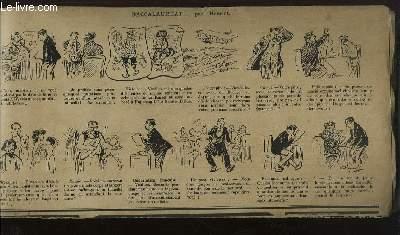 Recueil d'Historiettes d'Henriot, en bandes dessinées : Baccalauréat