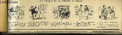 Recueil d'Historiettes d'Henriot, en bandes dessinées : Les Croquis de la Semaine