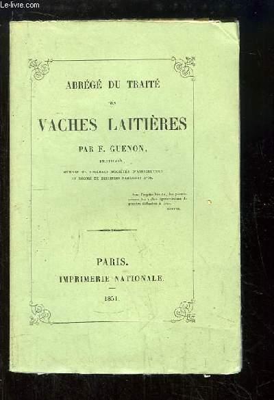 Abrégé du Traité des Vaches Laitières