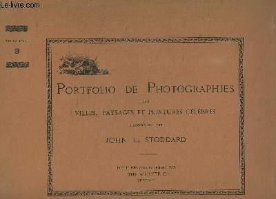 Portfolio de Photographies des villes, paysages et peintures célèbres. Séries d'Art, EN 16 FASCICULES
