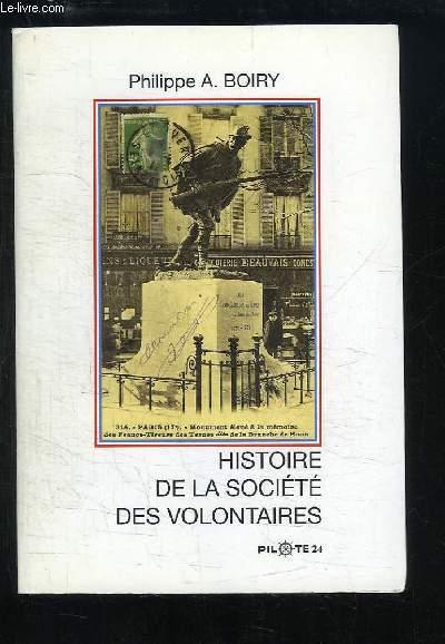 Histoire de la Société des Volontaires