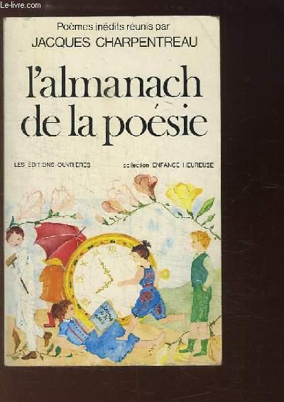 L'almanach de la Poésie.