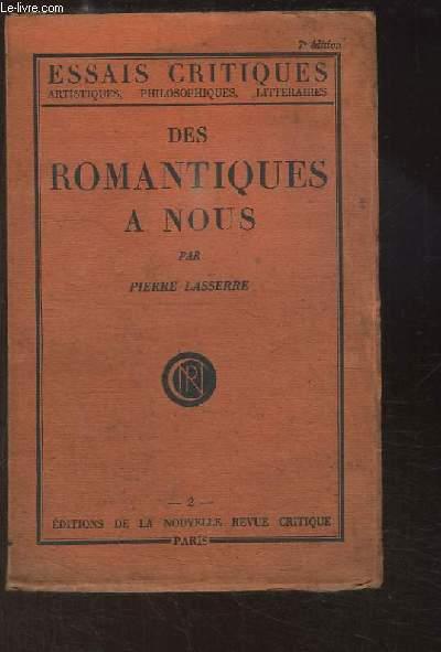 Des Romantiques à nous