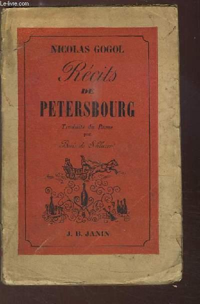 Récits de Pétersbourg.