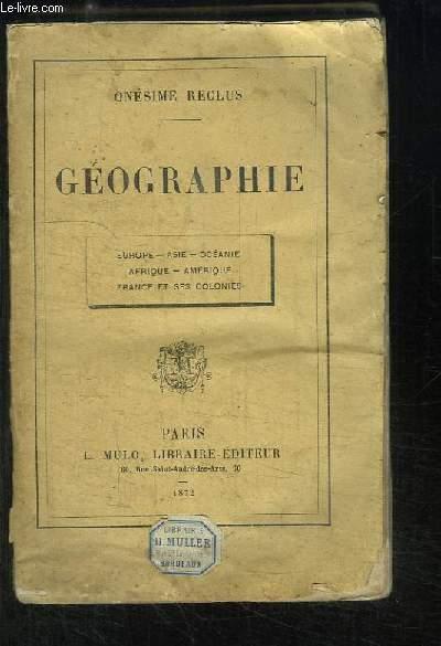 Géographie.