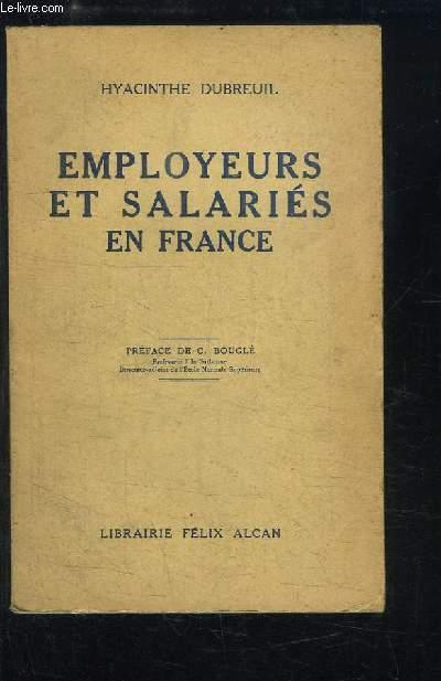 Employeurs et Salariés en France.