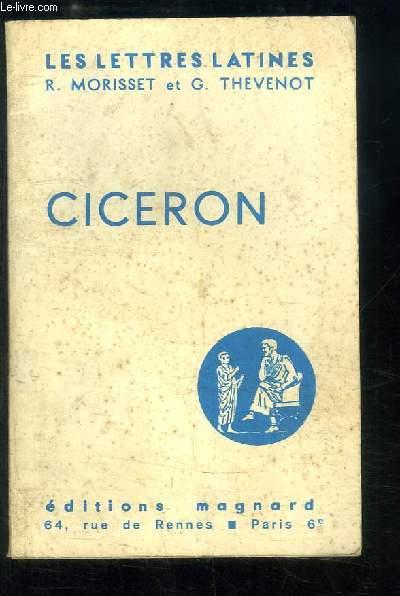 Cicéron (Chapitre X des