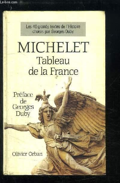 Tableau de la France.
