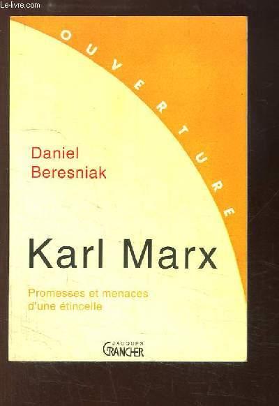 Karl Marx. Promesses et menaces d'une étincelle.