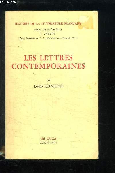 Les Lettres Contemporaines