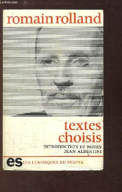 Textes politiques, sociaux et philosophiques choisis.