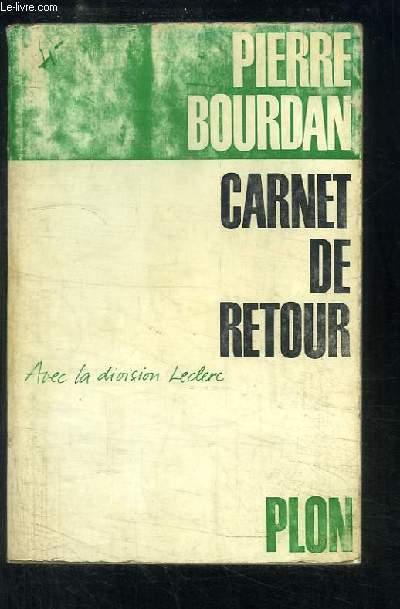 Carnet de Retour, avec la division Leclerc.