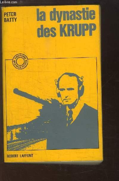 La dynastie des Krupp.