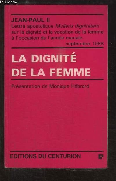 La dignité de la femme