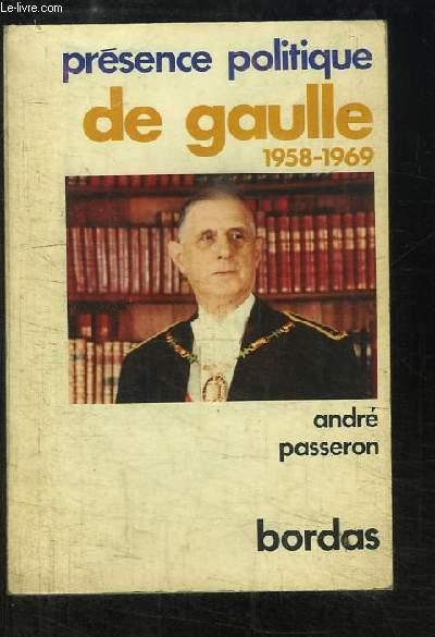De Gaulle 1958 - 1969