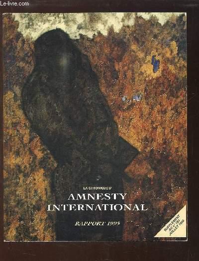 Amnesty International. Rapport 1995