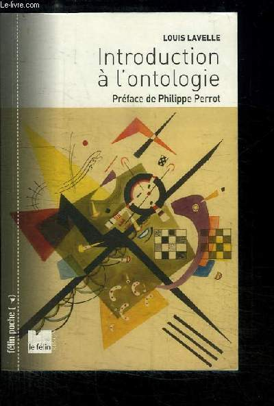 Introduction à l'Ontologie.
