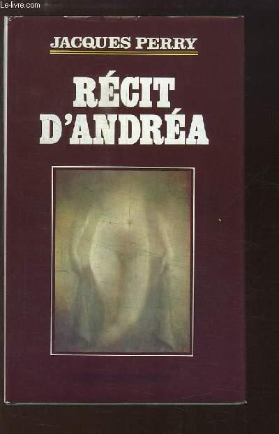 Récit d'Andréa